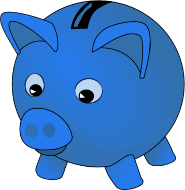 Piggy bank clipart images clipart royalty free library Blue piggy bank clipart - ClipartFest clipart royalty free library