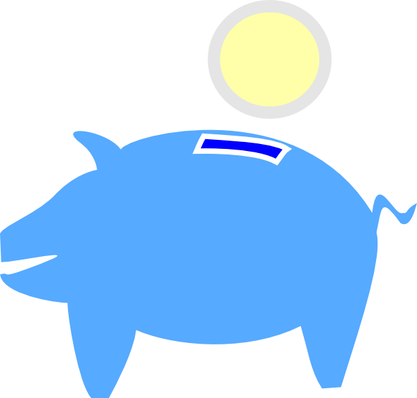 Bank clipart images svg freeuse Free Clip art of Bank Clipart #2291 Best Piggy Bank Blue Download ... svg freeuse