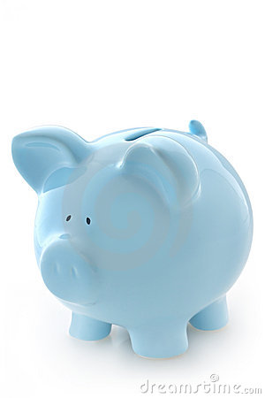 Blue piggy bank clipart clipart black and white download Blue Piggy Bank Stock Photography - Image: 4688562 clipart black and white download