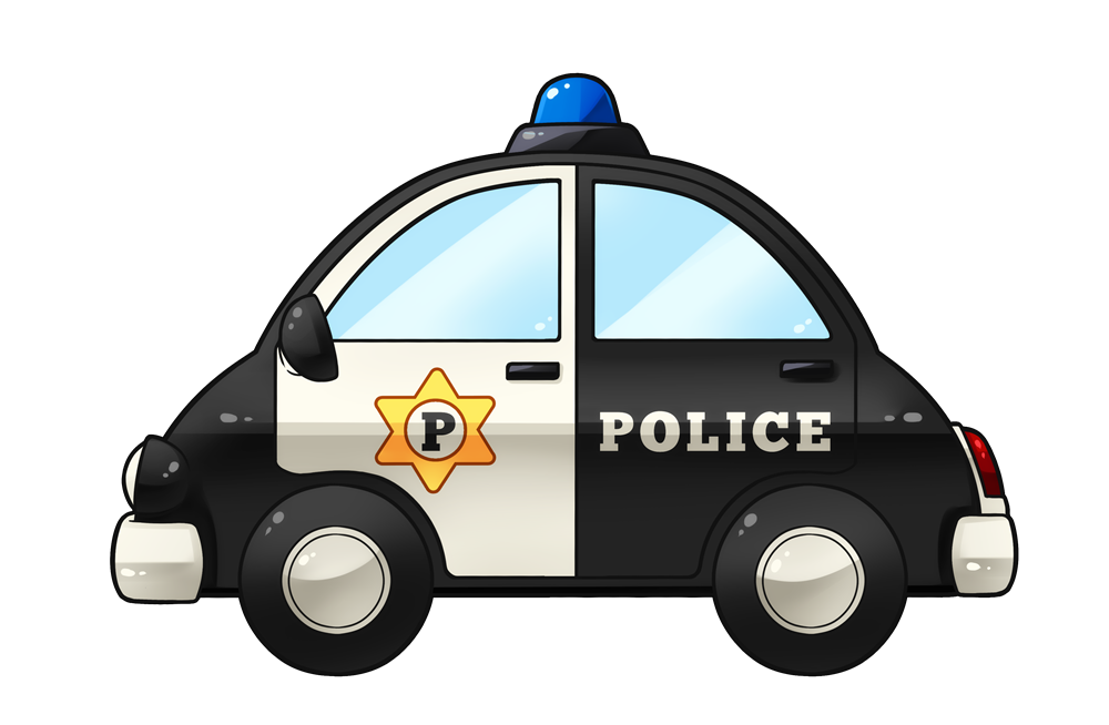 Free to use public. Blue police car clipart