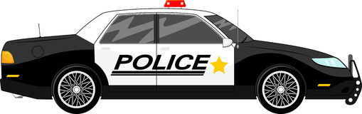 Blue police car clipart. Clipartfest stock image