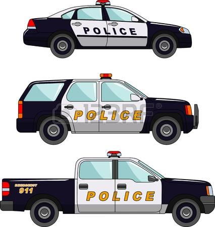 Blue police car clipart black and white download Police car live clipart - ClipartFox black and white download