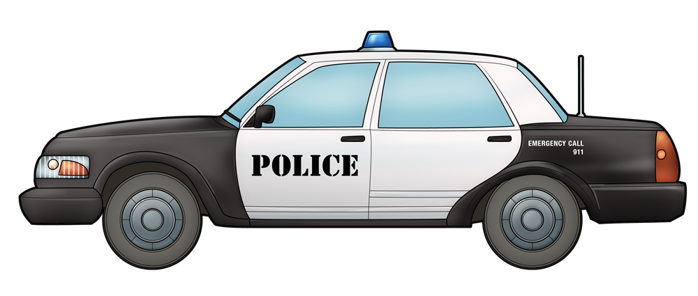 Car side view clipart vector freeuse download Free to Use & Public Domain Police Car Clip Art vector freeuse download