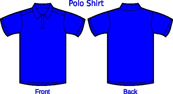 Blue polo shirt clipart vector library stock Royal Blue Polo Shirt Clip Art at Clker.com - vector clip art online ... vector library stock