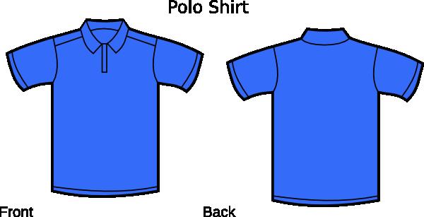 Blue polo shirt clipart picture transparent library Blue Polo Shirt Clip Art at Clker.com - vector clip art online ... picture transparent library