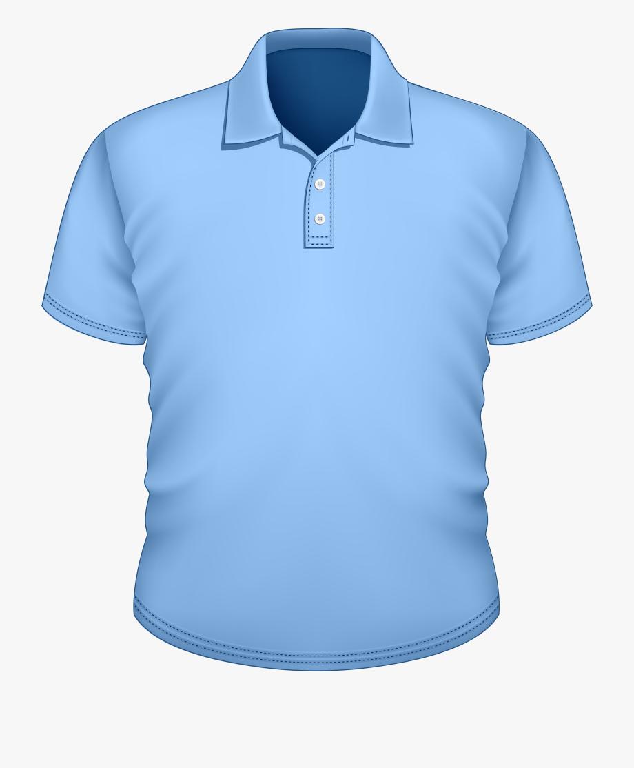Blue polo shirt clipart clip transparent download Blue Shirt Png Best - Camisa Polo Azul Vetor #99225 - Free Cliparts ... clip transparent download