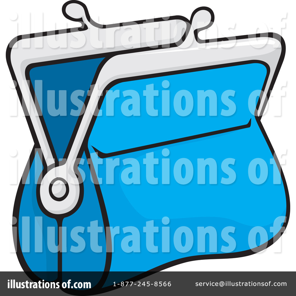 Blue purse clipart vector black and white Free Purse Clipart | Free download best Free Purse Clipart on ... vector black and white