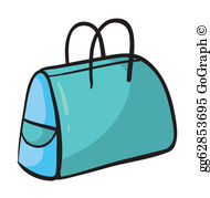 Blue purse clipart vector library download Purse Clip Art - Royalty Free - GoGraph vector library download