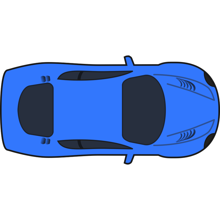 Blue race car clipart clip freeuse library Sports Car Top View Clipart ✓ All About Clipart clip freeuse library