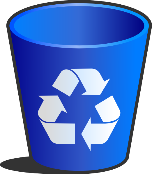 Recycle Bin Clip Art at Clker.com - vector clip art online, royalty ... png royalty free library