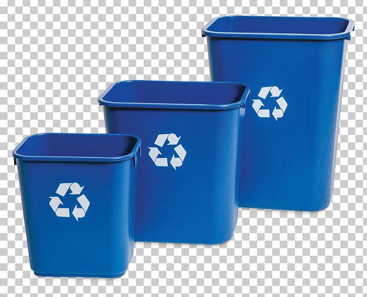 Blue recycling bin clipart png black and white download Recycling Bin Plastic Rubbish Bins & Waste Paper Baskets PNG ... png black and white download