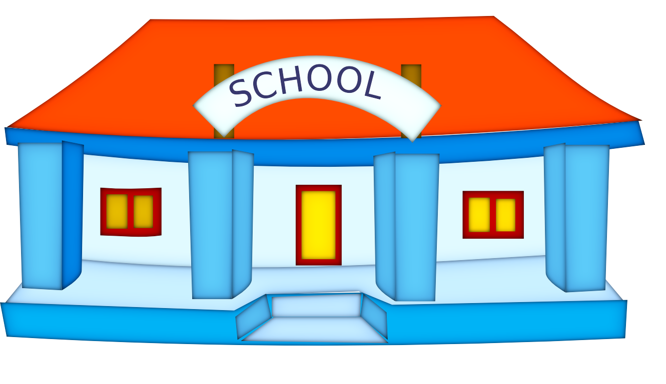Blue school house clipart image stock 28+ Collection of School Clipart Png | High quality, free cliparts ... image stock