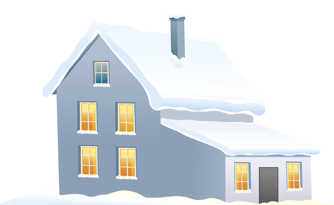 Blue school house clipart banner freeuse library Blue Winter House PNG Clipart Image | Gallery Yopriceville - High ... banner freeuse library