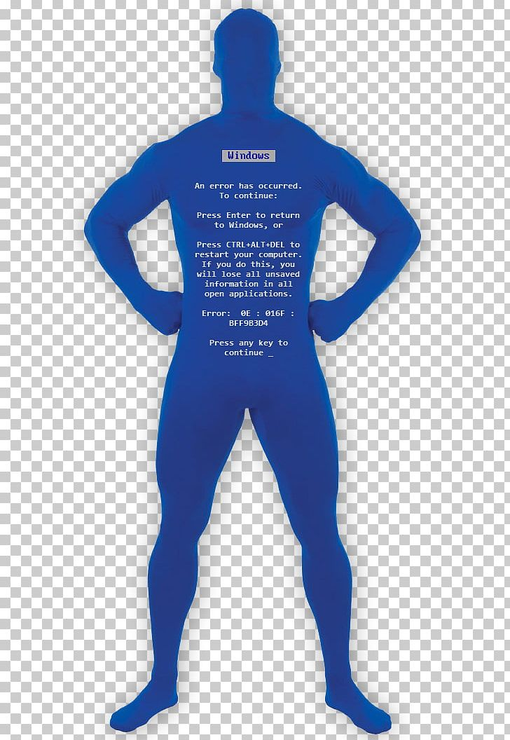Blue screen of death clipart banner black and white stock Blue Screen Of Death Costume Zentai PNG, Clipart, Blue, Blue Screen ... banner black and white stock