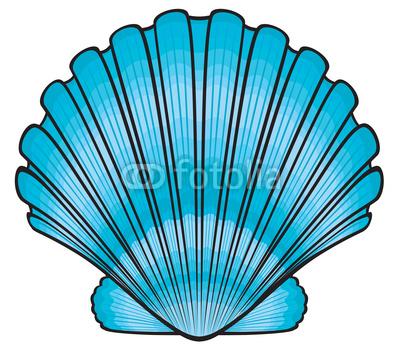 Blue seashell clipart image library 40+ Seashell Clipart Free | ClipartLook image library