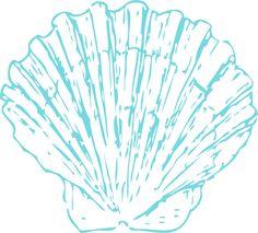 Blue seashell clipart banner transparent stock Blue seashell clipart 1 » Clipart Station banner transparent stock