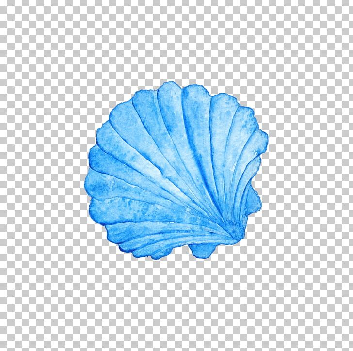 Blue seashell clipart image transparent stock Seashell Watercolor Painting Photography PNG, Clipart, Animals ... image transparent stock