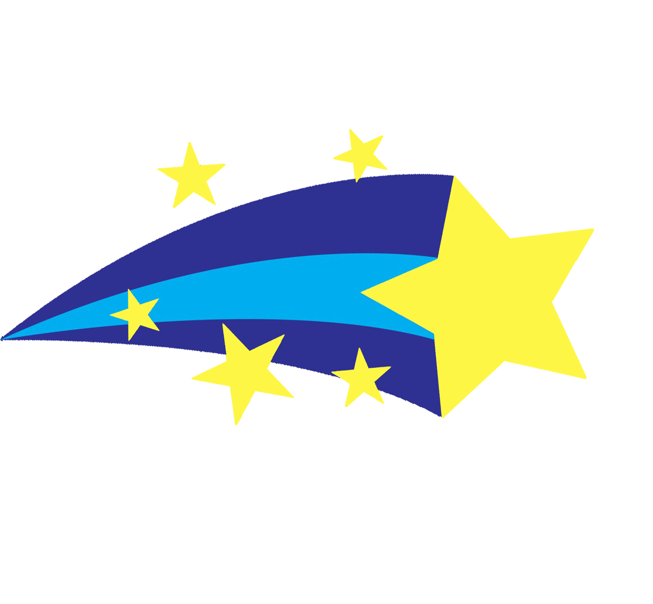 Star clipart 3d png 28+ Collection of Blue Shooting Stars Clipart | High quality, free ... png