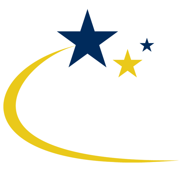 Blue shooting star clipart clip royalty free download Yellow Blue Shooting Star transparent PNG - StickPNG clip royalty free download
