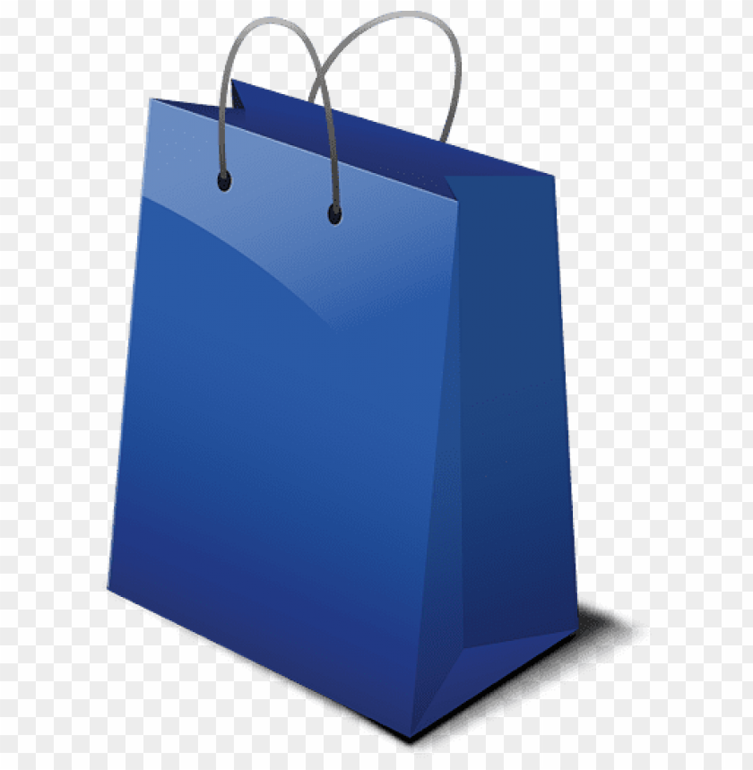 Blue shopping bag png clipart free jpg freeuse download Download blue shopping bag clipart png photo | TOPpng jpg freeuse download
