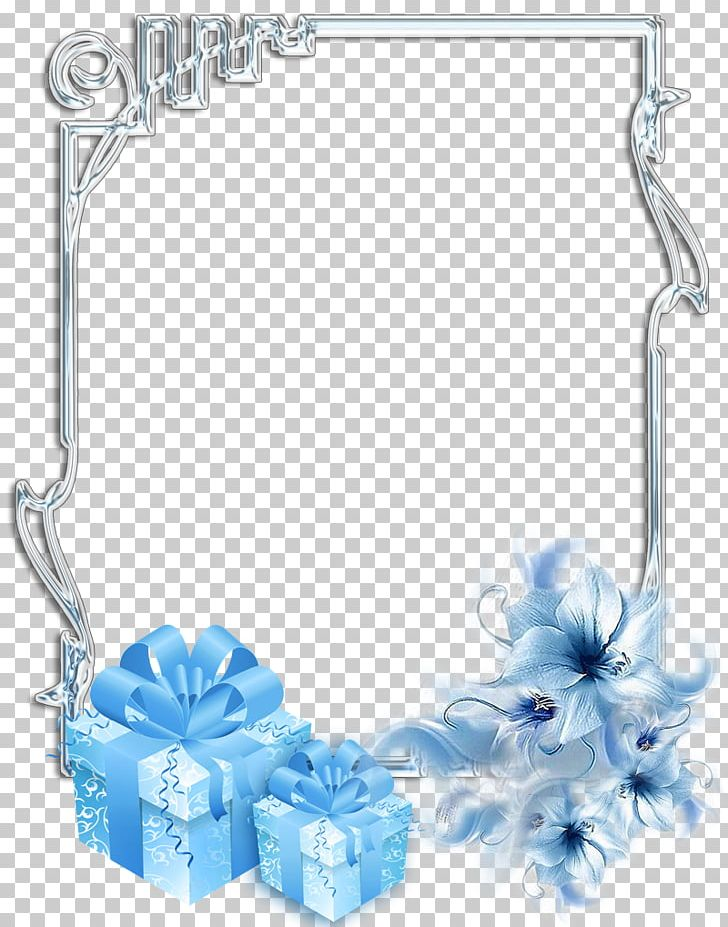 Blue & silver christmas frame clipart png transparent Christmas Frames Gift PNG, Clipart, Azure, Blue, Body Jewelry ... png transparent
