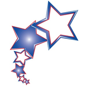 Rustic red white and blue star clipart clipart transparent stock Blue And Red Star | Free download best Blue And Red Star on ... clipart transparent stock