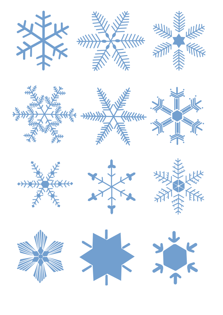 Blue snowflake clipart transparent background svg free library 28+ Collection of Free Snowflake Clipart Transparent Background ... svg free library