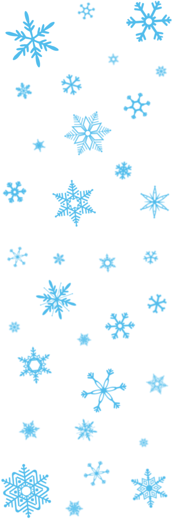 Snowflake border png clipart royalty free download Snowflakes Transparent PNG Pictures - Free Icons and PNG Backgrounds royalty free download