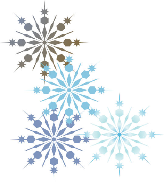 Blue snowflake page divider clipart banner free stock 28+ Collection of Snowflake Clipart Border | High quality, free ... banner free stock