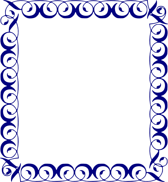 Blue snowflake border clipart clip freeuse download blue border designs - Gecce.tackletarts.co clip freeuse download