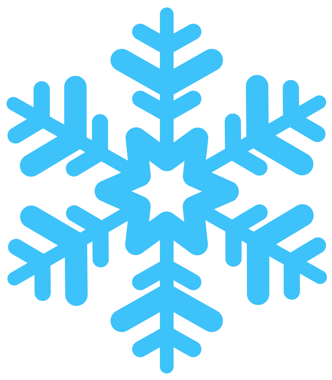 Blue snowflake border clipart svg black and white library Snowflakes Transparent PNG Pictures - Free Icons and PNG Backgrounds svg black and white library
