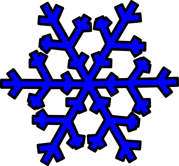 Snowflake clipart blue transparent download Blue Snowflake Clip Art at Clker.com - vector clip art online ... transparent download