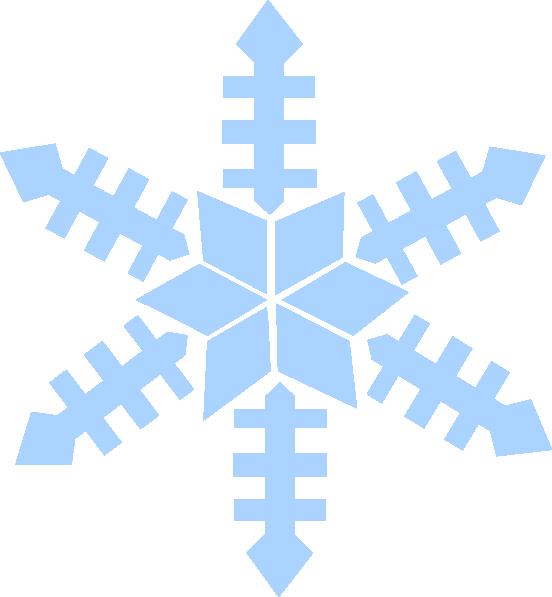 Blue snowflake clipart image transparent Blue Snowflake Clip Art at Clker.com - vector clip art online ... image transparent