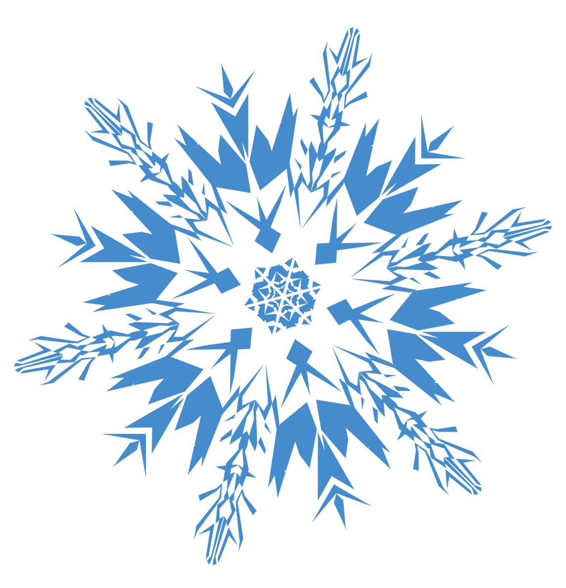 White snowflake with no background clipart freeuse library White Snowflake transparent PNG - StickPNG freeuse library