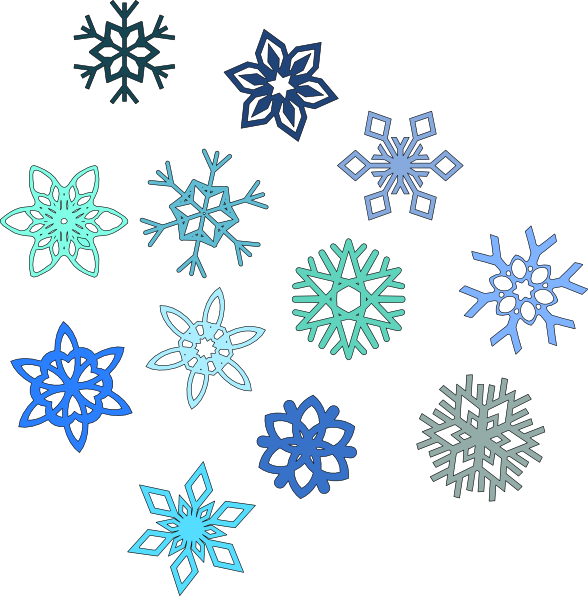 Blue snowflake clipart transparent background free Winter Snowflake Clipart at GetDrawings.com | Free for personal use ... free