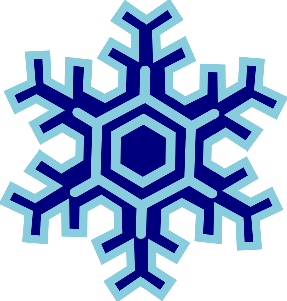 Snowflake maroon clipart vector transparent stock Snowflake Clip Art at Clker.com - vector clip art online, royalty ... vector transparent stock