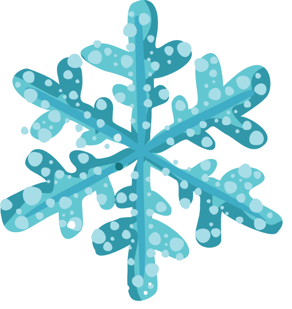 Blue snowflake free banner clipart clipart royalty free stock Teen TGIF: Ring in the Holidays! · Patten Free Library clipart royalty free stock
