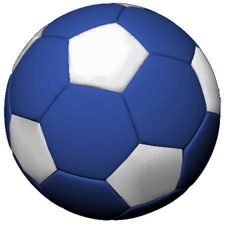 Blue soccer ball clipart transparent download Blue Soccer Ball Clipart - Clipart Kid transparent download