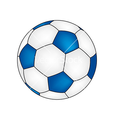 Blue soccer ball clipart clipart library download Blue Soccer Ball Clipart - Clipart Kid clipart library download