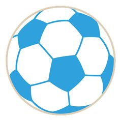 Blue soccer ball clipart vector freeuse Blue soccer ball clipart - ClipartFest vector freeuse