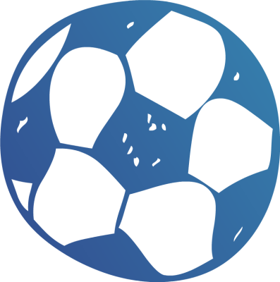 Blue soccer ball clipart picture black and white stock Blue Soccer Ball Clipart - Clipart Kid picture black and white stock