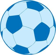 Blue soccer ball clipart png free stock Blue soccer ball clipart - ClipartFest png free stock