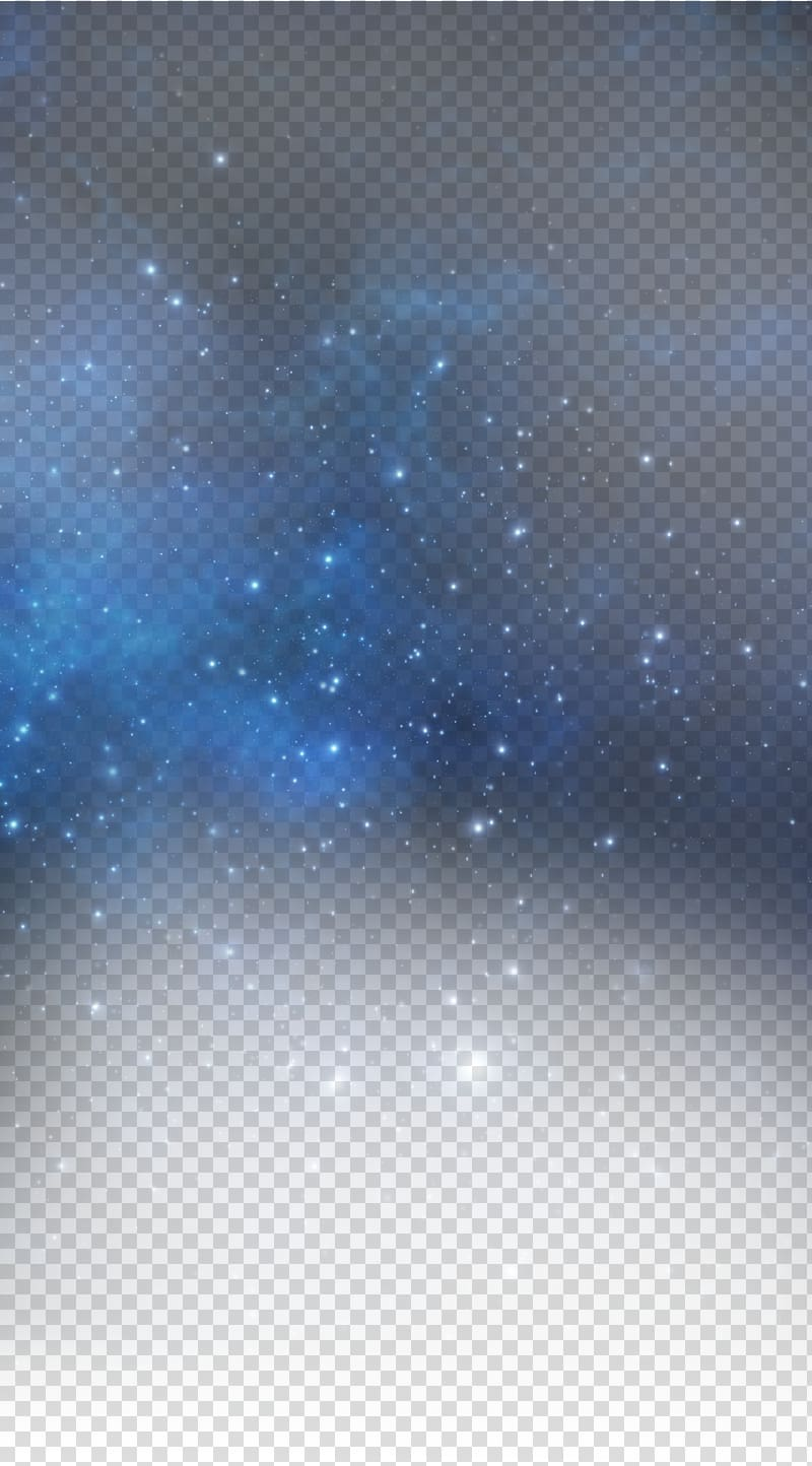 Stars in the sky clipart transparent background clipart freeuse stock Blue Star Sky, Blue Star, galaxy illustration transparent background ... clipart freeuse stock