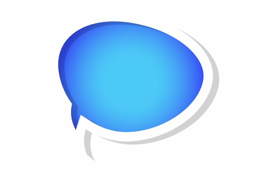 Blue speech bubble clipart graphic Blue Bubbles Cliparts - Blue Speech Bubble Png, Transparent Png ... graphic