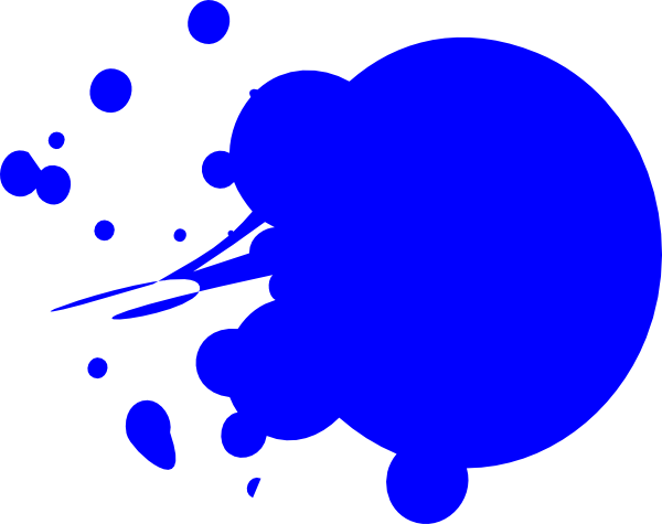 Blue spot clipart picture royalty free library Blue Dot Splat clip art | Clipart Panda - Free Clipart Images picture royalty free library