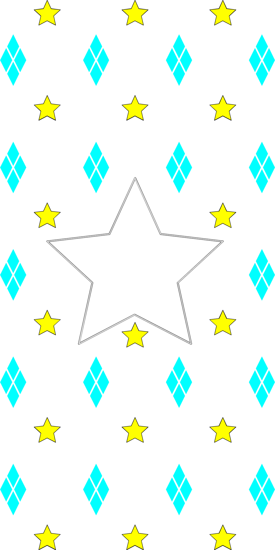 Free star background clipart freeuse Star | Free Stock Photo | Illustration of a yellow and blue star ... freeuse