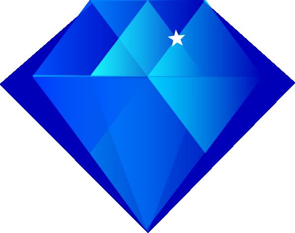 Blue stone clipart svg download Blue Diamond Clip Art at Clker.com - vector clip art online, royalty ... svg download