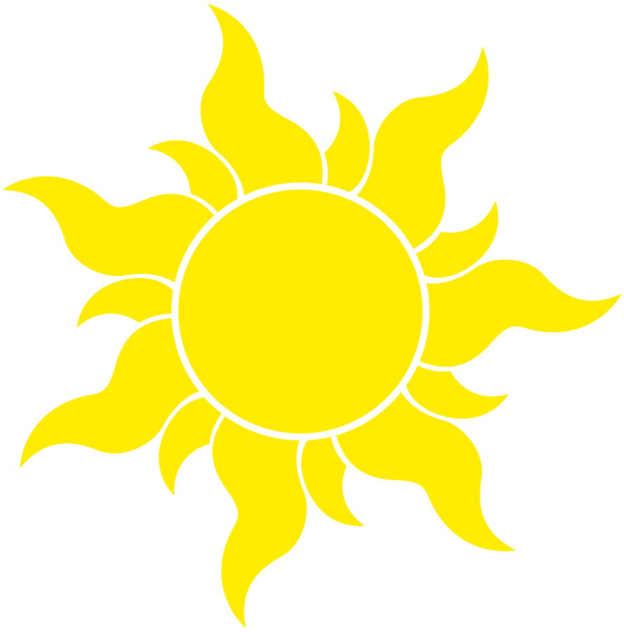 Simple sun clipart
