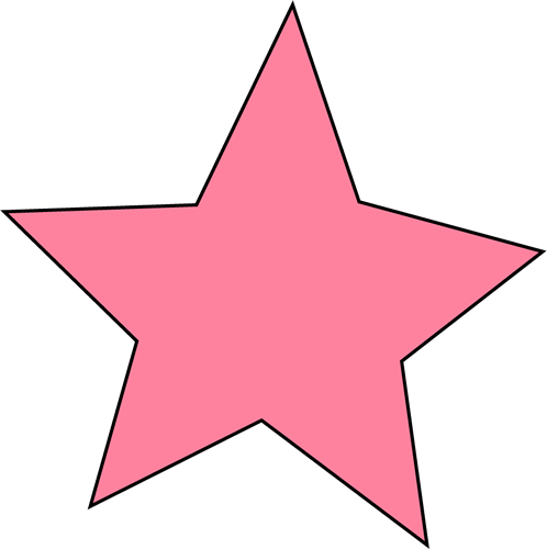 And pink clipartfest. Blue super star clipart