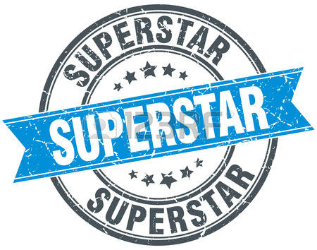 Blue super star clipart graphic 2,654 Superstar Stock Vector Illustration And Royalty Free ... graphic